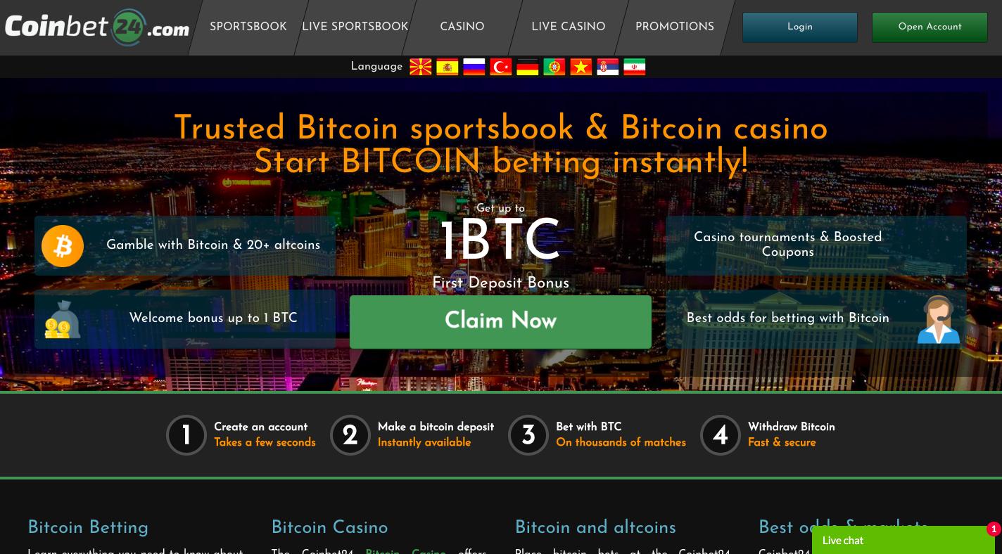 New bitcoin casino restrictions